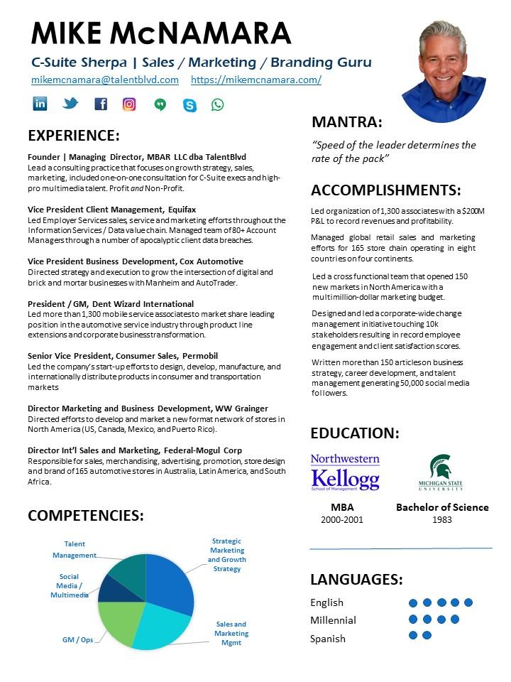 bio  u2013 resume  u2013 mike mcnamara